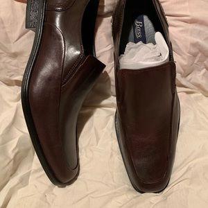 GH Bass & Co Santiago 2 Leather Dress Shoes